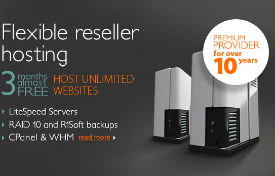 CPanel Hosting Reseller Services with Softaculous, RVSkin, RVSite Builder on Litespeed Servers from Beachcombe